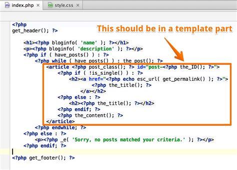 get template part get template part templates data