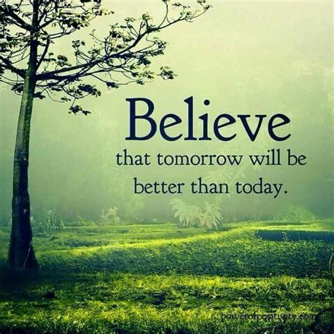 Tomorrow Would Be Better Quotes