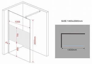200 Mm En Cm : 10 mm duschtrennwand vacante fr 140 x 200 cm alphabad ~ Dailycaller-alerts.com Idées de Décoration