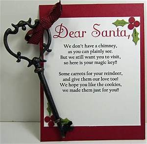 santa key we do have a fire place but if we ever move i With letter from santa with magic key