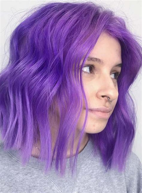 34 gorgeous purple bob haircuts hairstyles for 2019