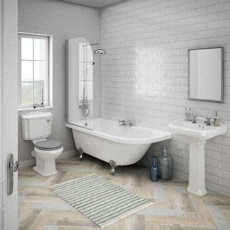 appleby lh traditional bathroom suite victorian plumbing uk