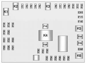 Chevrolet Express  2011  U2013 2016   U2013 Fuse Box Diagram