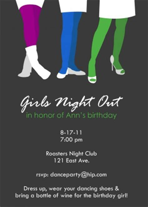girls night out party quotes