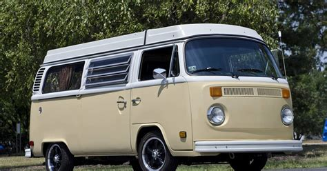 vw bus turned   family van