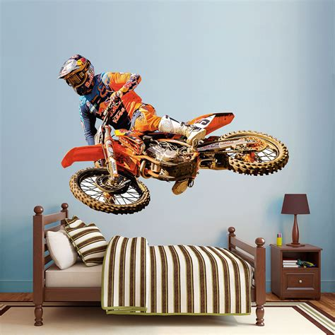 ryan dungey life size officially licensed removable wall