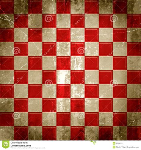 red checkered grunge stock images image