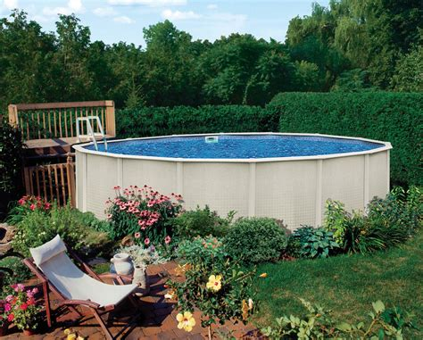 Decorating Around Above Ground Pool by Design Houston Above Ground Pools Ideas Inspirations Aprar