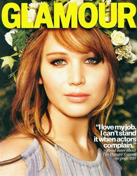 Formidableartistry Jennifer Lawrences Glamour Magazine