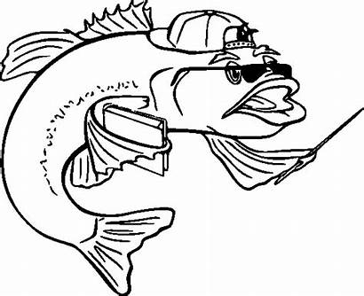 Fish Coloring Pages Pikmin Fische Template