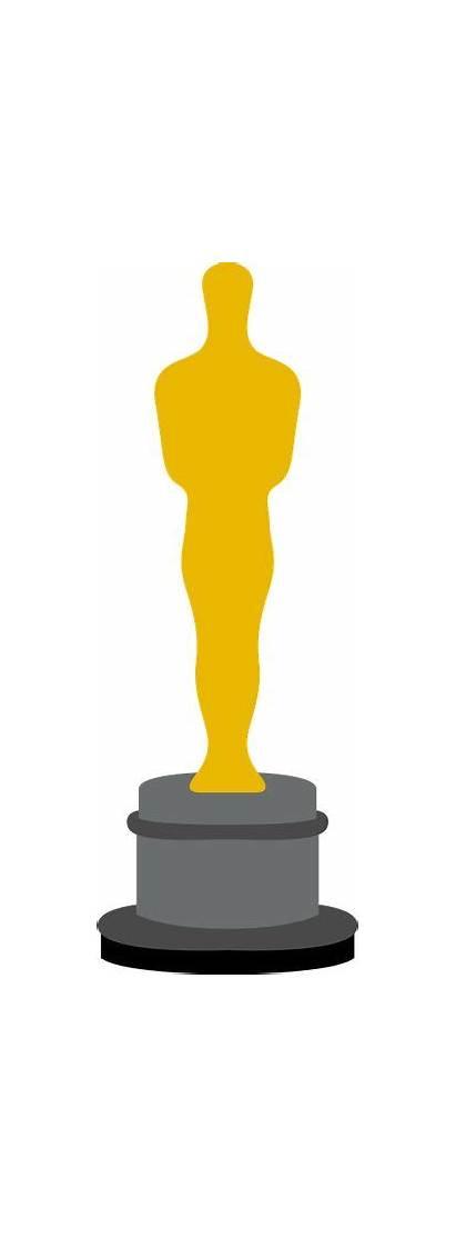 Oscar Award Statue Clipart Academy Clip Cliparts
