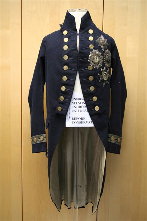 conservation  nelsons undress uniform royal