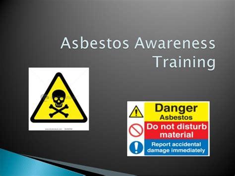 asbestos awareness training  hsfb