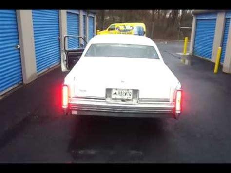 cadillac fleetwood led tail lights youtube