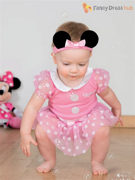 Baby Toddler Deluxe Minnie Mouse Costume Girl Disney Fancy