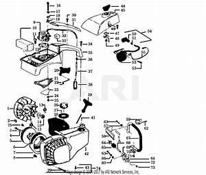 Poulan 2300av Gas Saw Parts Diagram For Handles  U0026 Housing