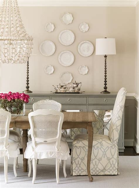 french dining table  white cane  chairs