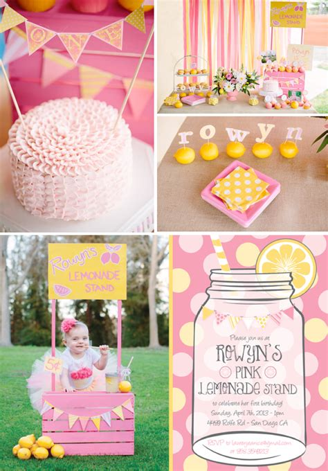 kara 39 s party ideas pink lemonade girl summer 1st birthday 1st birthday girl kara 39 s party ideas