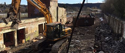 mchugh demolition latest work yorkshire wakefield