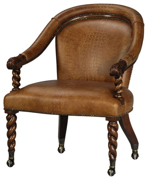 curved back armchair traditional armchairs