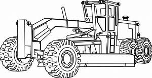 Bulldozer Coloring Pages to Print | Free Coloring Books