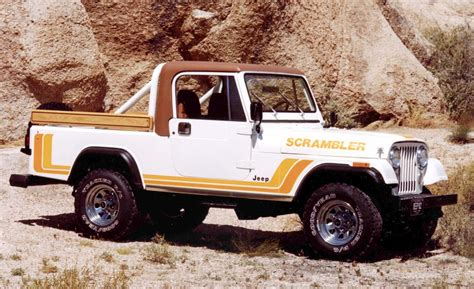 visual history  jeep pickup trucks  lineage  longer