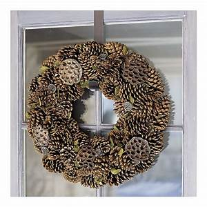 Enjoy, All, Life, Has, To, Offer, Diy, How, To, Create, A, Pinecone, Wreath