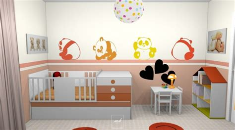 chambre panda deco chambre bebe panda with stickers panda chambre bb