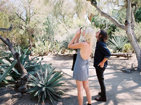 moorten botanical garden engagement palm springs
