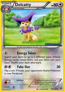 delcatty pokemon x and y card review