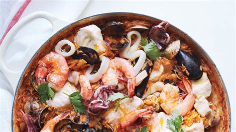 pot seafood orzo risotto