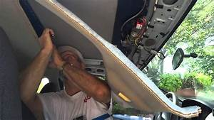 Cougar Sunroof Removal And Install