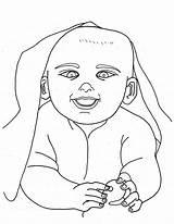 Coloring Pages Newborn Babies Printable Getdrawings Drawing Bestcoloringpagesforkids sketch template