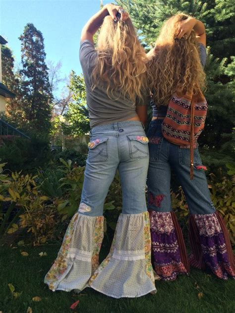 17 best ideas about Hippie Jeans on Pinterest | Hippie accessories Hippy and Gypsy look outfits