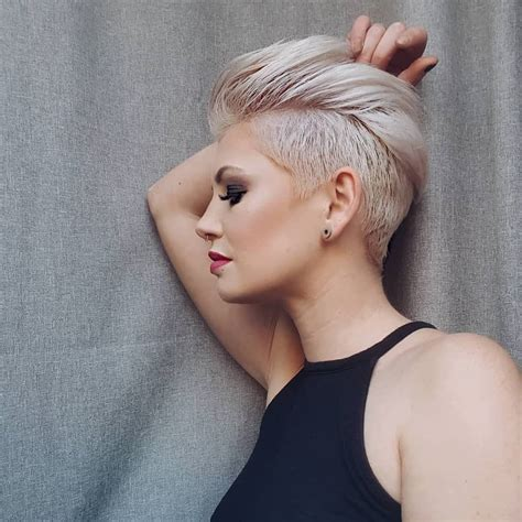 edgy pixie haircuts  women  short hairstyles