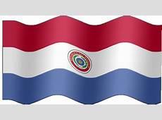 Animated Paraguay flag Country flag of abFlagscom gif