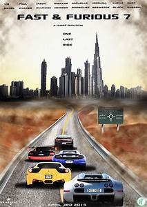 Fast and Furious 7 Abu Dhabi Poster 2015 on Behance