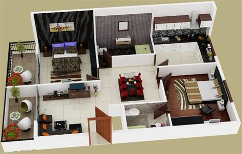2d kitchen design 1065 sq ft 2 bhk 2t apartment for in venkat estates 1065
