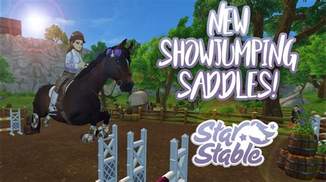 stable star saddles showjumping