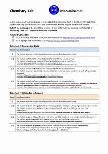 Chemistry Lab Manual 2012