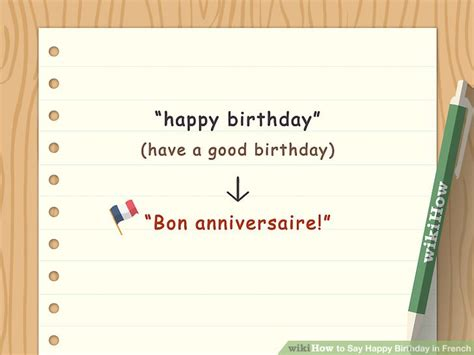 4 Ways To Say Happy Birthday In French