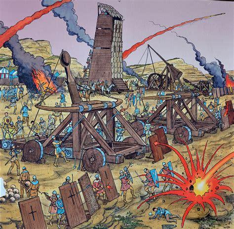 siege cotoons battle at les baux castle 1 flickr photo