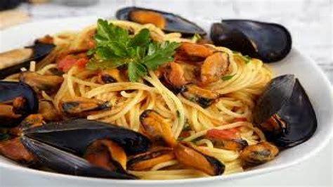 Receta Gatimi - Si te gatuajme Spageti me midhje - YouTube