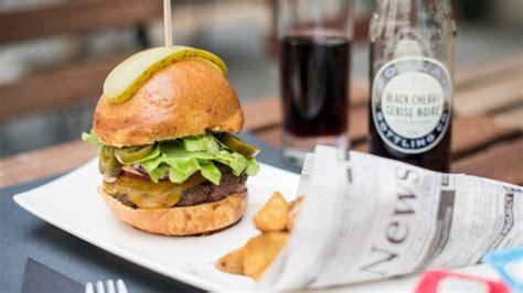 beef burger 250gr restaurant the food box à bruxelles menu avis prix et