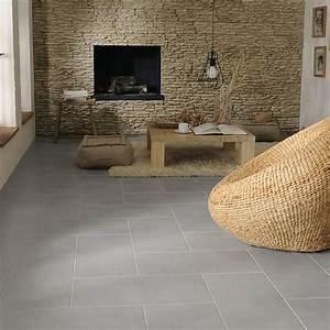 carrelage sol gris pireo 30 x 60 cm castorama With carrelage maison de campagne