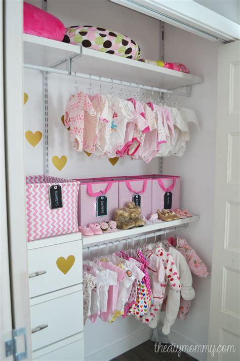 closet for baby an organized baby closet with closetmaid shelftrack elite