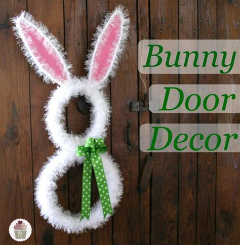 bunny decorations bunny door decoration hoosier