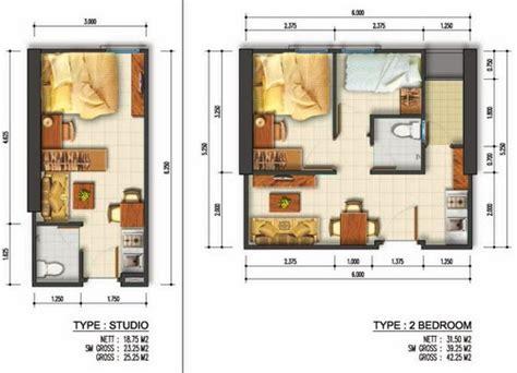 desain rumah susun minimalis  linda desain grafis