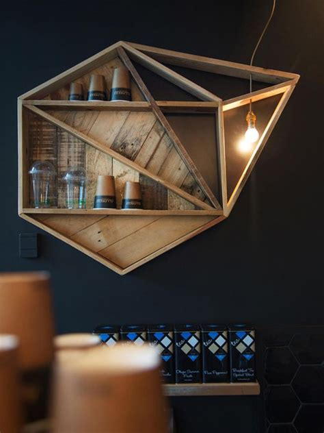 geometric shelves simple  eccentric  great