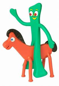 Gumby and Pokey Toys | Bendable Figure Set